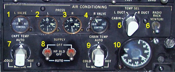 air condition panel