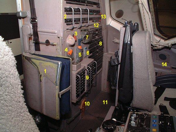 Md80 Cockpit Aft Left Side