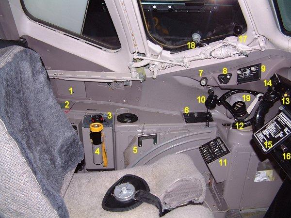 Md80 Cockpit Left Side